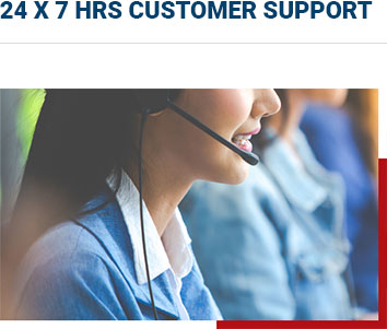 24 by 7 Support