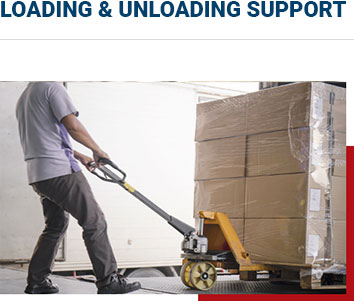 loading & unloading support